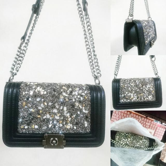 766b491d8aaf BN Chanel Inspired Classic Boy Chain Crossbody Bag, Luxury, Bags & Wallets  on Carousell
