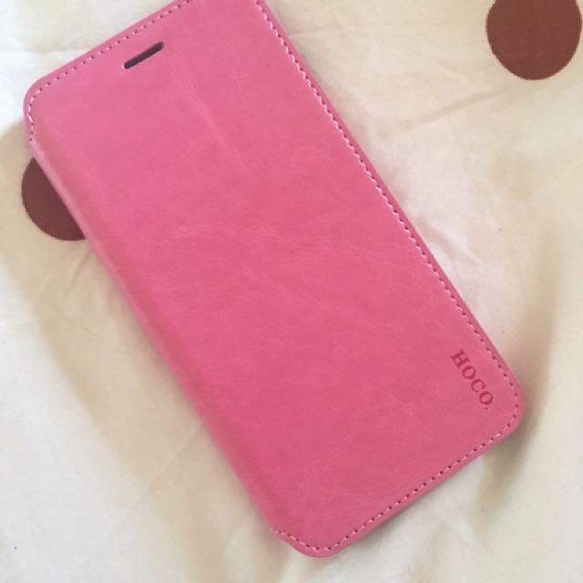 BNIB iPhone 6/6s Plus Leather Casing (Pink) - Free Postage