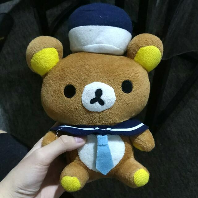 Boneka Sailor Rilakkuma
