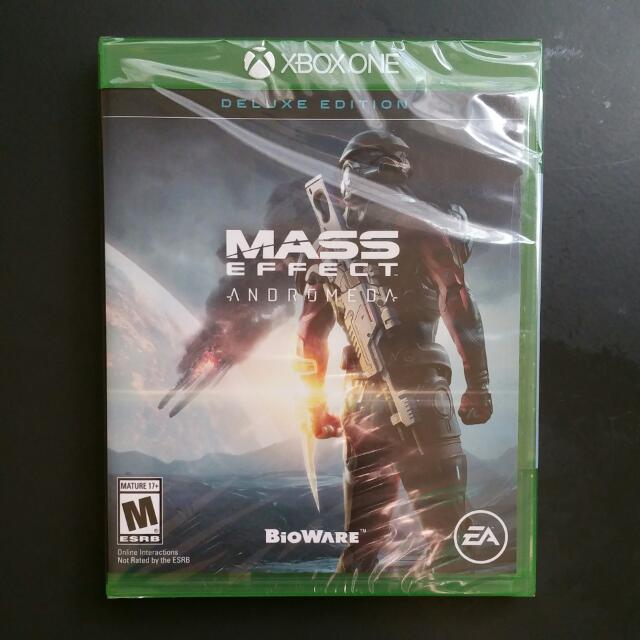Brand new unopened Mass Effect Andromeda Deluxe Edition Xbox One