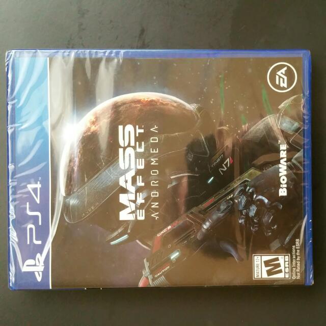 Brand new unopened Mass Effect Andromeda PS4