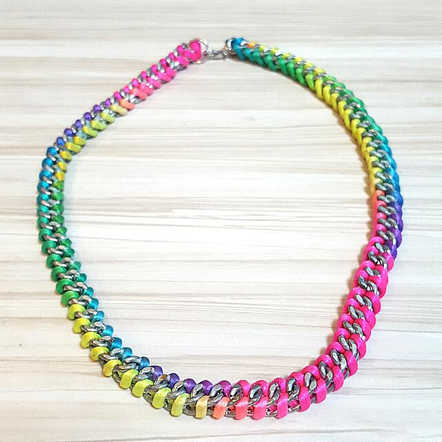 Bright Colorful Necklace