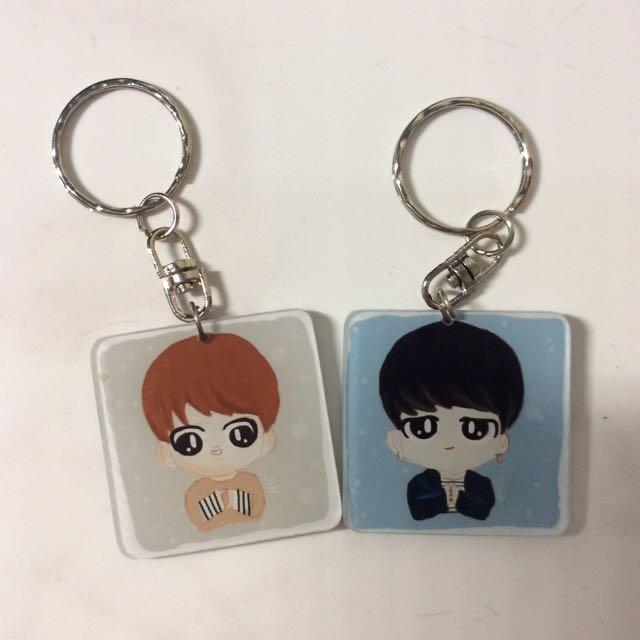 BTS Spring Day Keychain