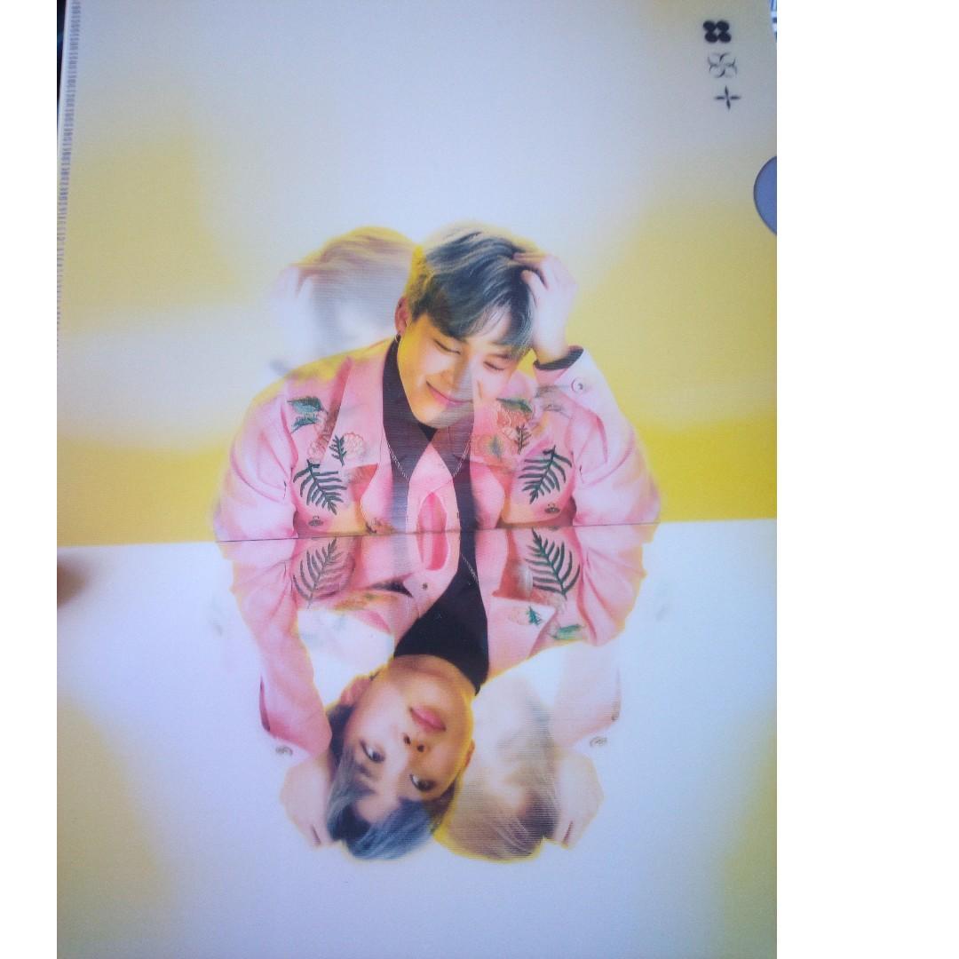 BTS Wings Tour Jimin L-Holder Folder Official