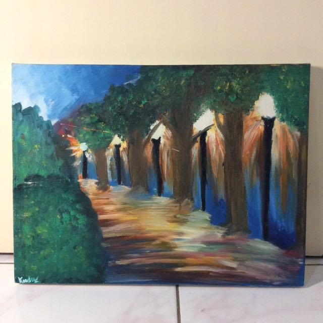Canvas Oil Painting : The Dawn