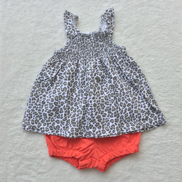 CARTER'S TANK ANIMAL PRINT SET