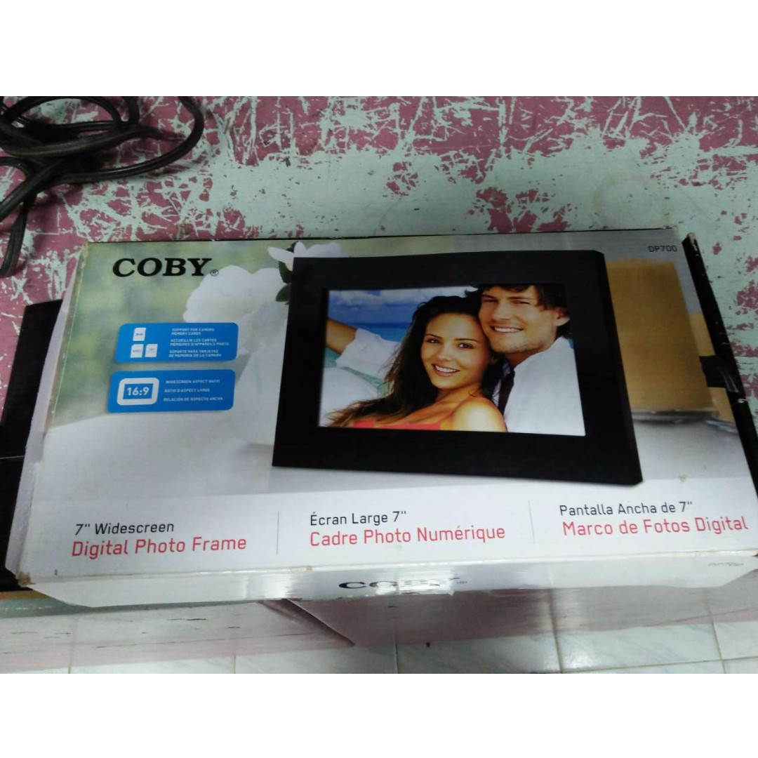 Coby 7 Inch Digital Photo Frame Electronics Others On Carousell