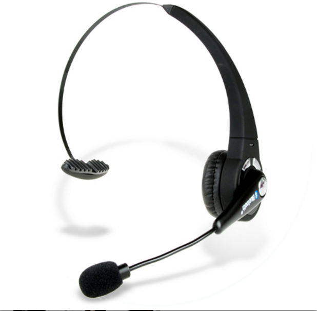 Comfortable Bluetooth Wireless Headset with High Response Boom Mini Mic Earphone