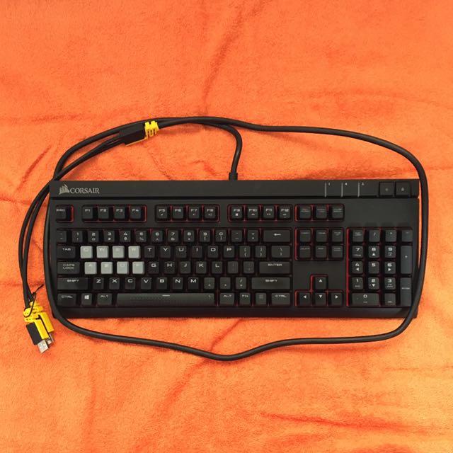 b65d98fe210 Corsair Strafe Mechanical Gaming Keyboard, Electronics, Computer ...