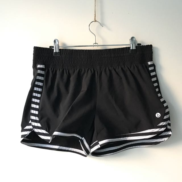 Cotton On Body Shorts, Black And White