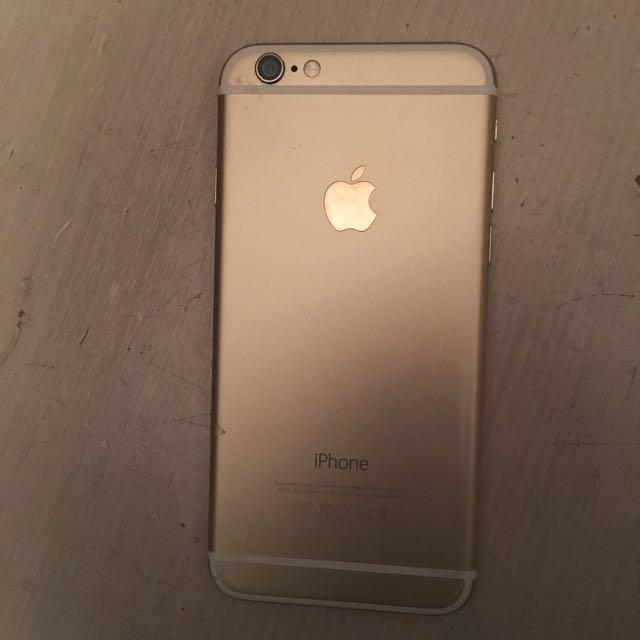 Cracked 128GB iPhone 6