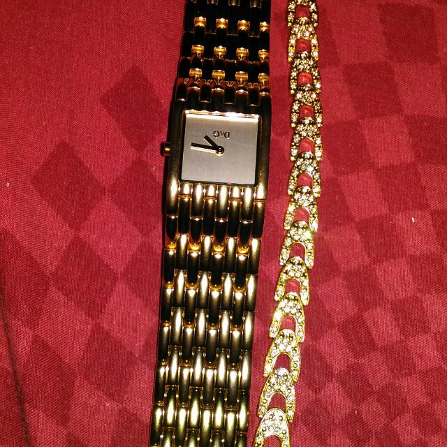 D&g Gold Watch