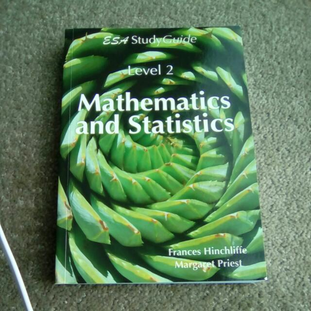 ESA Study Guide Level 2 Maths And Stats
