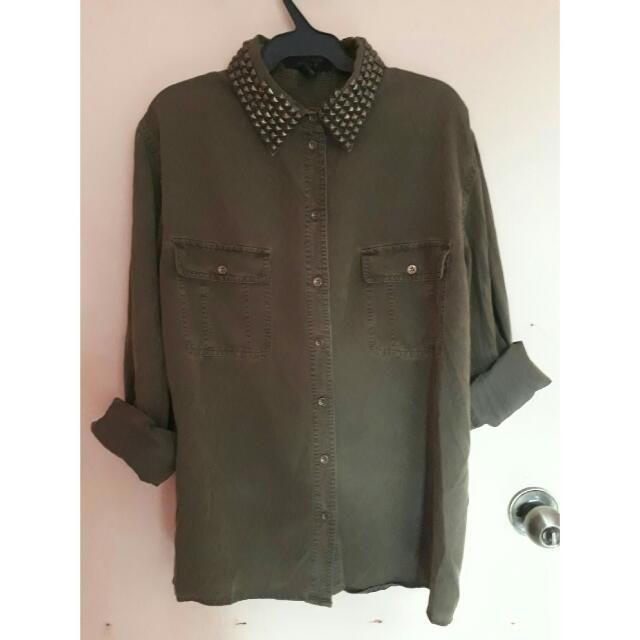 F21 Studded Top Very Pretty