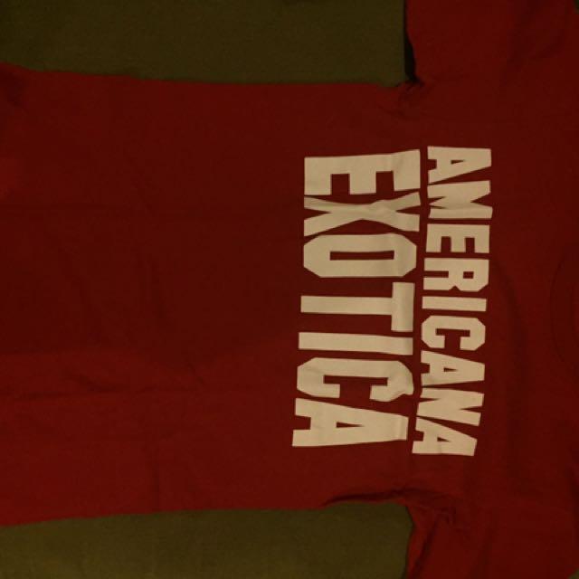 FALL OUT BOY OFFICIAL MERCH americana Exotica Shirt