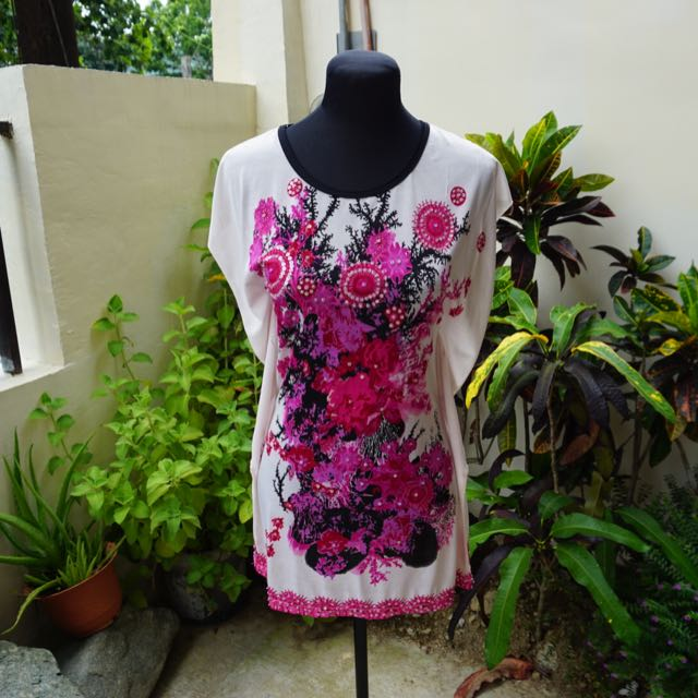 Floral Blouse/ Dress