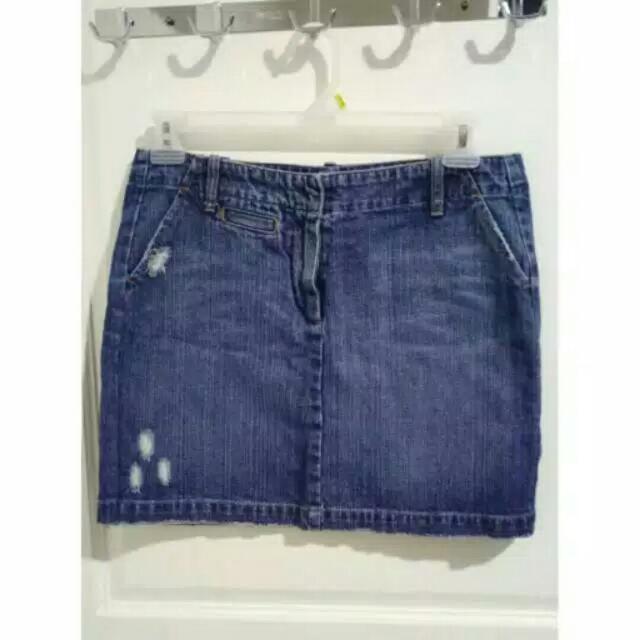 FreeOng Jabodetabek Rok Jeans / Jeans Skirt