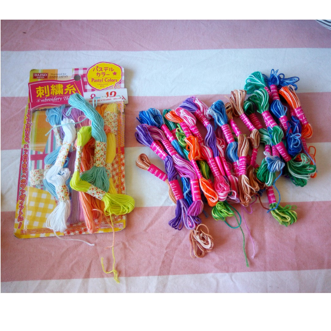 Friendship Bracelet Embroidery Floss / Craft Thread String Pack