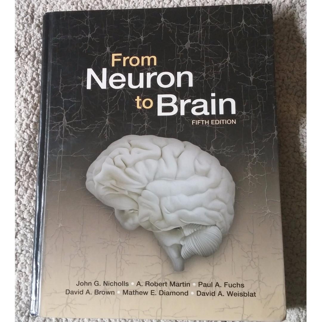 From Neuron to Brain 5ed textbook #BlackFriday50