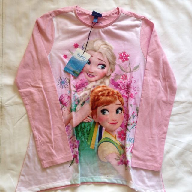 Frozen Long Sleeves Pink 4-5T