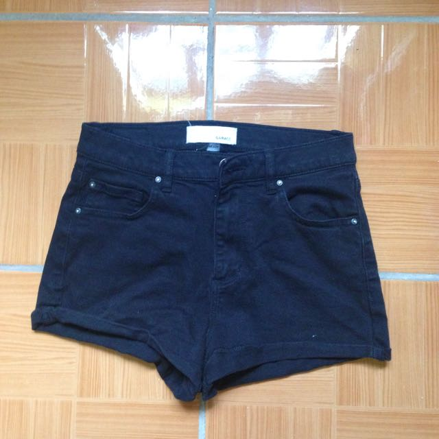 Garage High-waisted Shorts