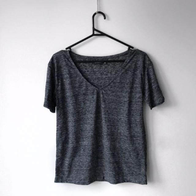 Glassons Grey T-shirt XS