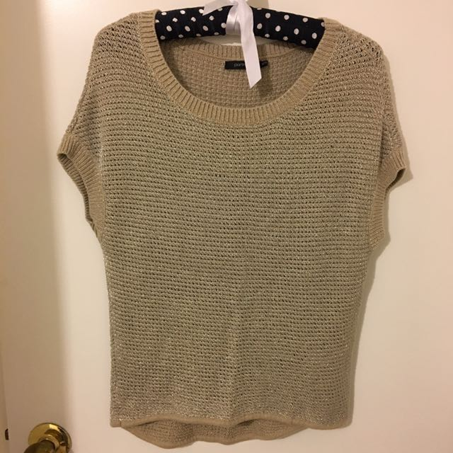 Good And Silver Knit - Sz XS