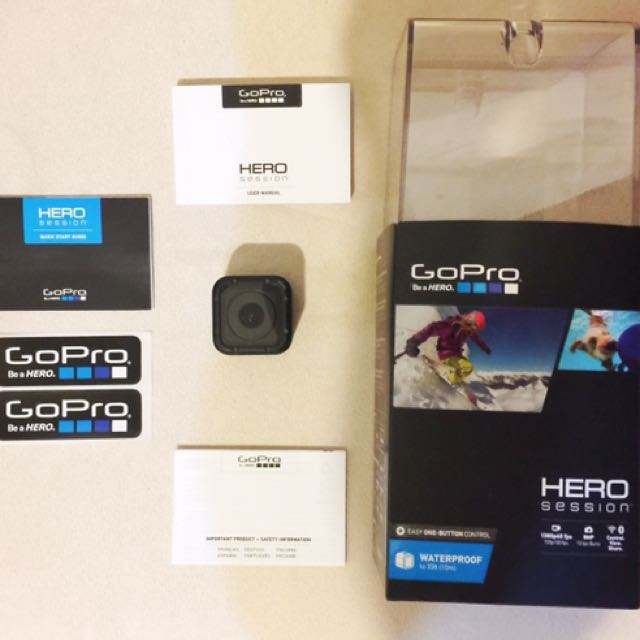 GoPro Hero Session Camera (Good as Brand New) On Rush Sale!!!