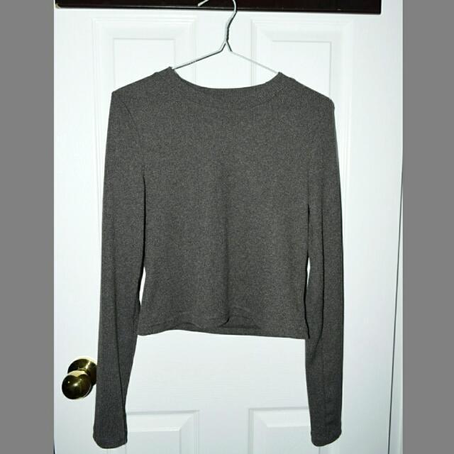Gray Long Sleeve H&M