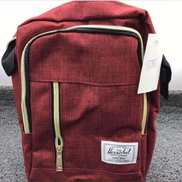 584bcd93a4d Herschel Scrub Sling Bag For Men Women