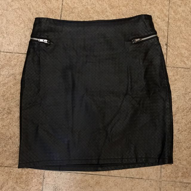 H&M Leather skirt
