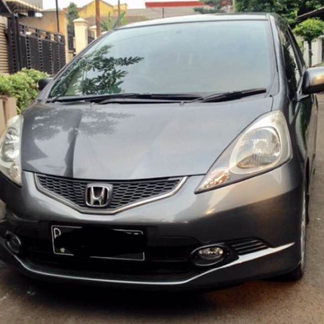 honda jazz rs matic