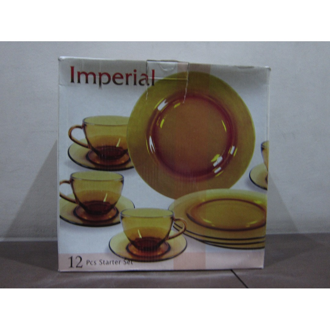 photo photo photo  sc 1 st  Carousell Ph & Imperial Dinnerware 12PC Starter Set Kitchen u0026 Appliances on Carousell