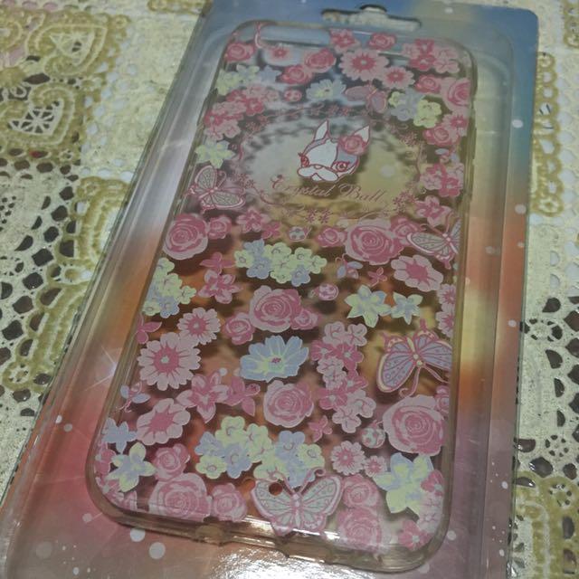iPhone 6/6s 法鬥粉色花朵手機殼