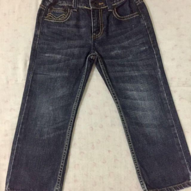 JAG Kid's blue jeans - adjustable waist (size w4)