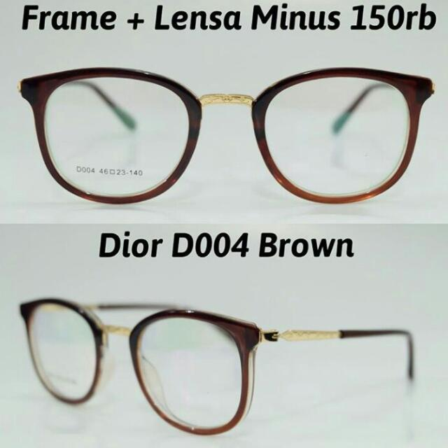 Kacamata Free Lensa Minus