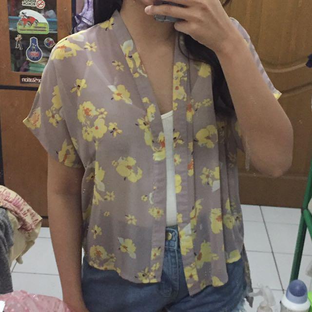Kimono Floral Outer