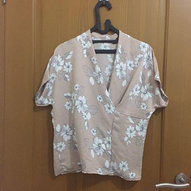 Kimono Floral Top