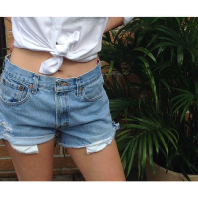 Levis 501 -Vintage Denim Shorts!