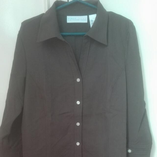 Repriced! Liz Claiborne Ladies Polo Long Sleeves