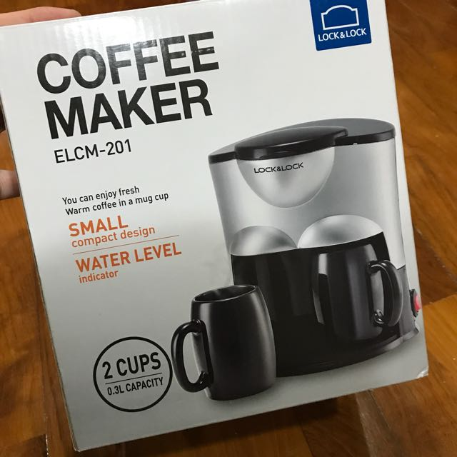 Lock & Lock Coffee Maker Elcm 201