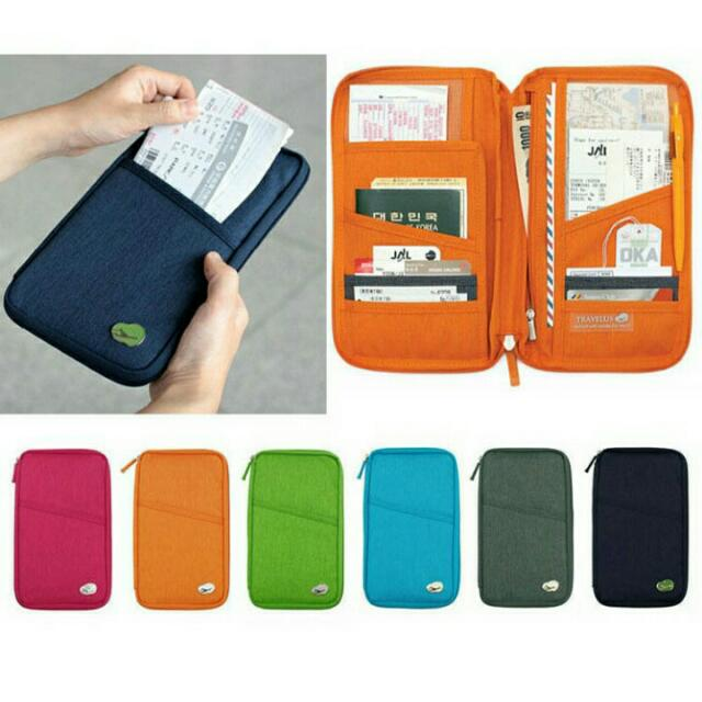 Long Handy Travel Passport Holder