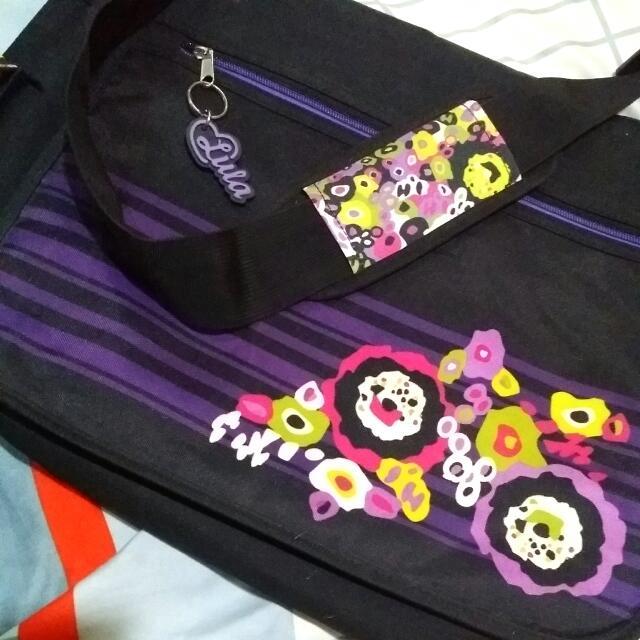 REPRICED Messenger School Bag