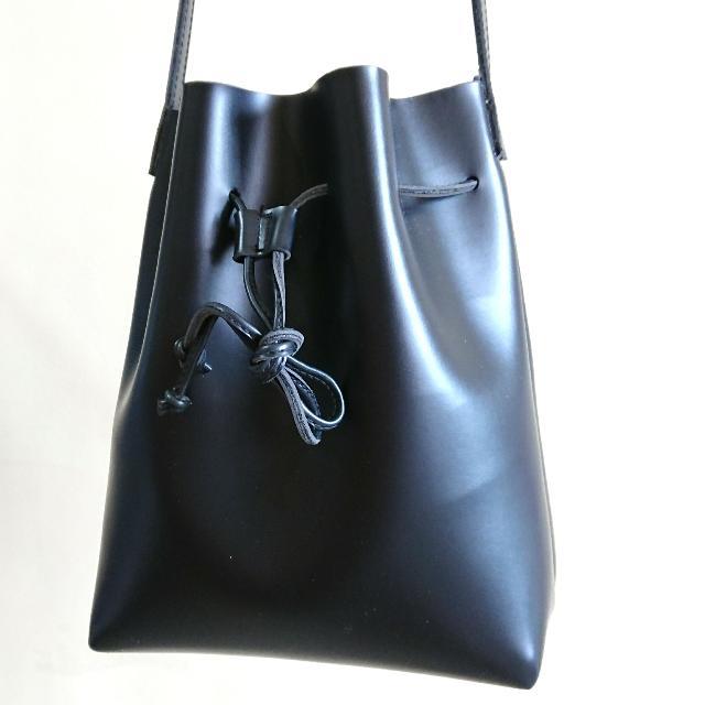 Luluswing Chianti Black Bucket Bag - Small Size