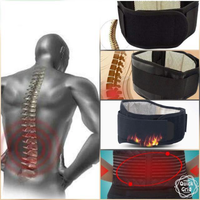 Lumbar support/fat burning belt