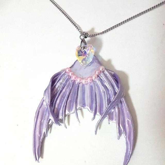 Customised Mermaid Tail Necklace