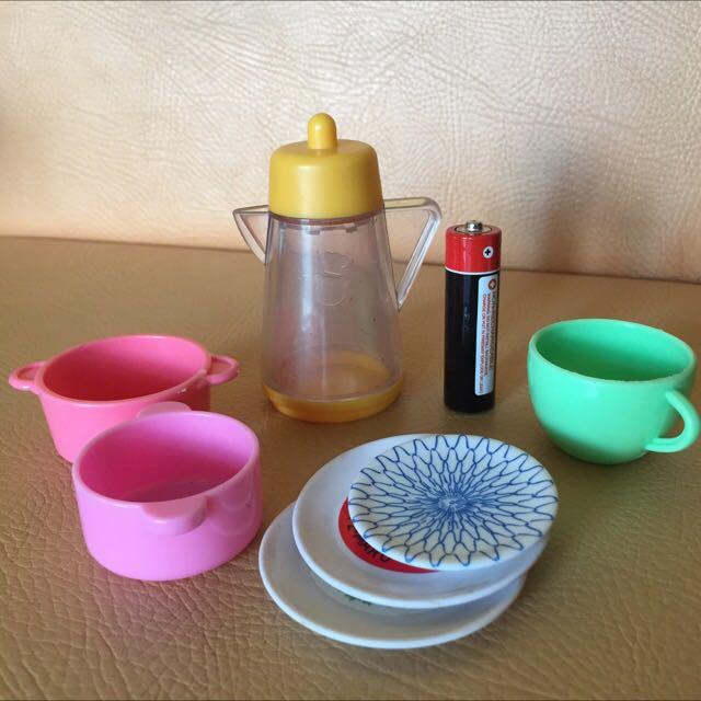 Mini kitchen utensils
