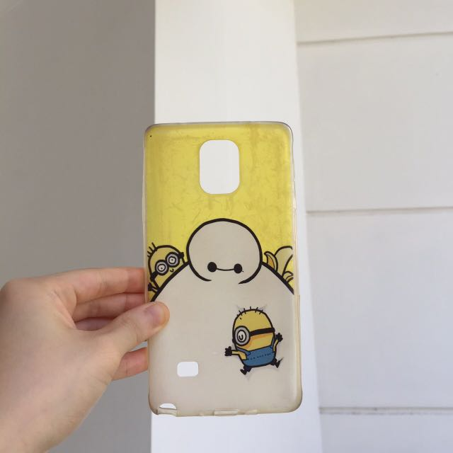 Minions Casing for Samsung Note 4