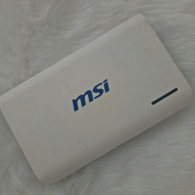 MSI powerbank