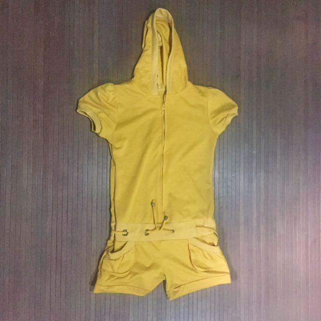 Mustard Colored jumpsuit